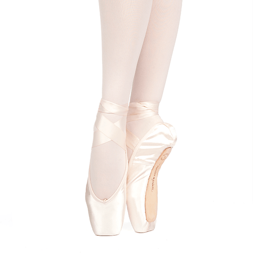 RUSSIAN POINTE 'MUSE' POINTE SHOES WITH DRAWSTRING (U-CUT)