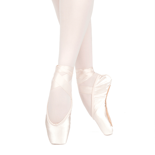 RUSSIAN POINTE 'LUMINA' POINTE SHOES WITH DRAWSTRING (U-CUT)