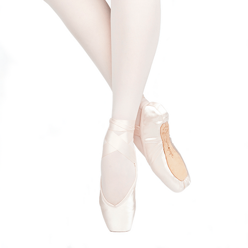 RUSSIAN POINTE 'ENCORE' POINTE SHOES WITH DRAWSTRING (U-CUT)