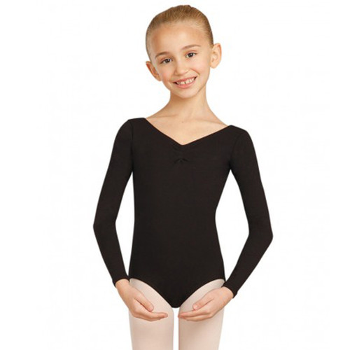 CAPEZIO LONG SLEEVE LEOTARD Jr