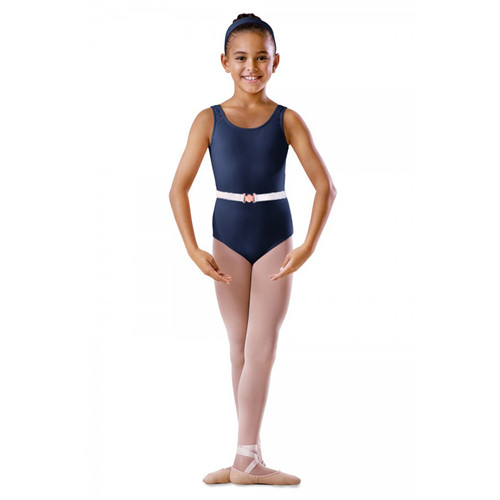 SUSAN ROBINSON NAVY TANK COTTON LEOTARD