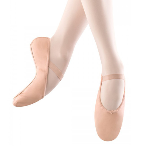 THE PERFORMANCE ACADEMY PINK LEATHER BALLET SHOES
