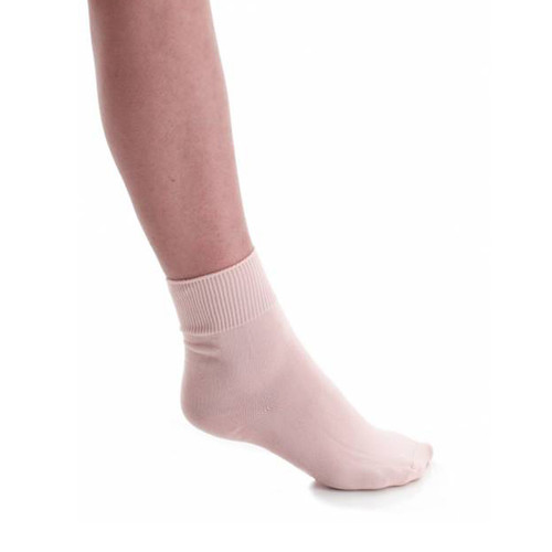 MOLESEY SCHOOL OF BALLET PINK SOCKS