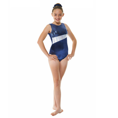 TAPPERS & POINTERS GYM/17 VELVET AND COSMIC SHINE LEOTARD Jr
