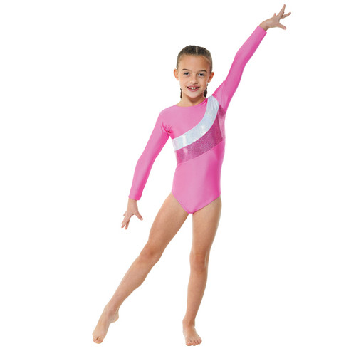 TAPPERS & POINTERS GYM/19 LYCRA AND COSMIC SHINE LEOTARD Jr