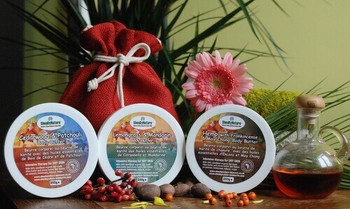 Luxury Shea Butter Body Butter Gift Set of 3 Intensive butters 250ml each