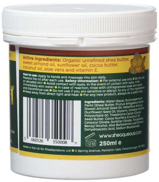 Sheabynature sheaqueos ingredients