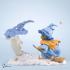 Cherished Teddies Witch and Moon Figurine - Limited edition