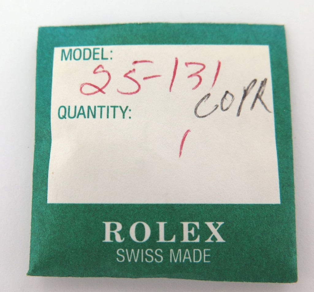 VINTAGE ROLEX N.O.S. TROPIC 25-131 CRYSTAL. 9301 9303 9311 9321 9323 9333 9343