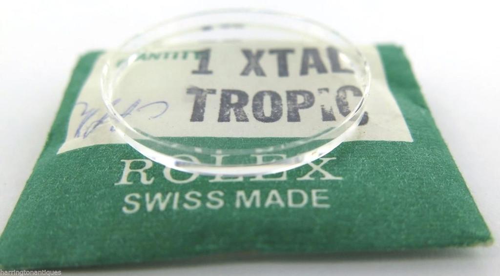 N.O.S Rare Rolex tropic plexiglass #13, fits 5502 5516 6594 7926 7963 7965 7967