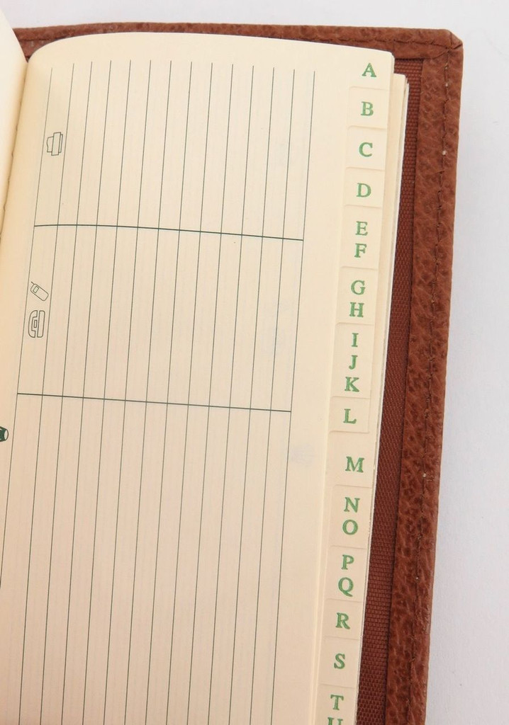 Scarce 2000 Rolex combination diary & telephone wallet, mint condition!