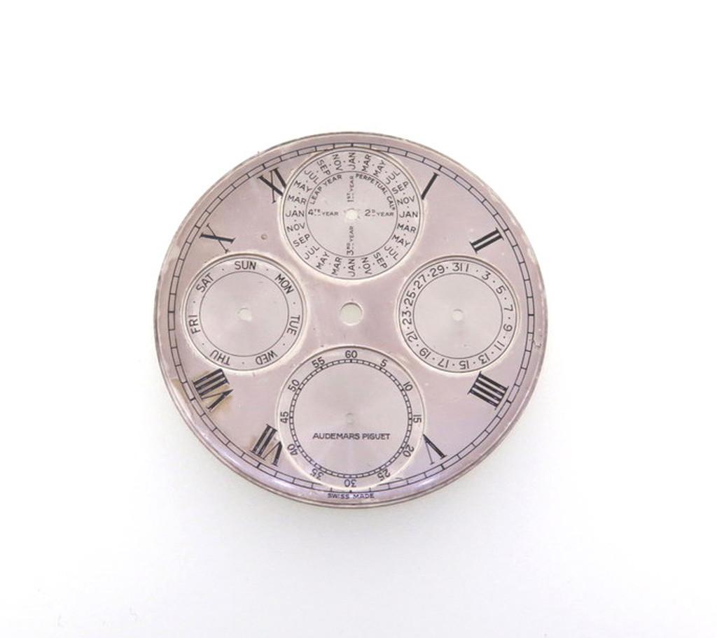 Extremely rare vintage Audemars Piguet 37mm dial.