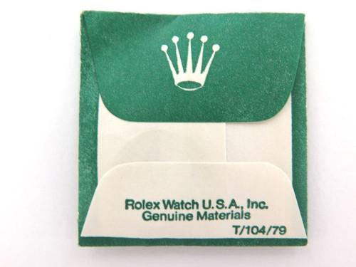 VINTAGE ROLEX N.O.S 122 CYCLOPS CRYSTAL. 7606 7607 9230 9231 92300 92311 ETC ETC