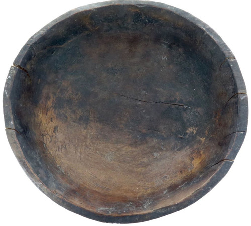 RARE ANTIQUE PNG PAPUA NEW GUINEA CARVED BOWL FROM BOIKEN DISTRICT, EAST SEPIK.