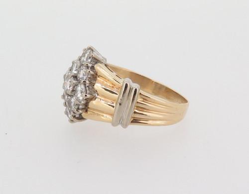 1.00ct H VS-SI 14ct white gold ladies diamond dress ring val $5215