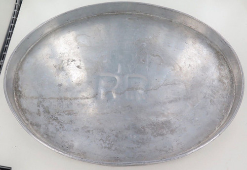 Huge / vintage RRR (Railway Refreshment Room metal tray. 46cm x 36cm x 3cm