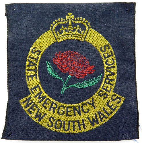 Old style / obsolete NSW New South Wales SES State Emergency Services patch.
