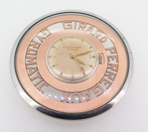 Rare Girard Perregaux Gyromatic movement & dial (salesmens sample)