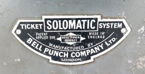 Scarce c 1960's huge Solomatic ticket machine ex Wynnum (QLD) bus company