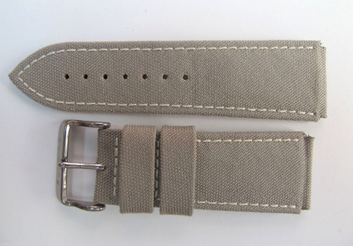 Brisbane 24MM HIGH GRADE DESERT CAMO CREAM STRAP & STEEL BUCKLE BY GLYCINE Harrington Vintage Watch Strap Woolloongabba
