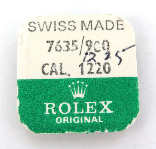 ROLEX NOS CAL. 1220 PART 7635/900 1 x MAINSPRING. CAL. 1220-7635/900. UNOPENED.