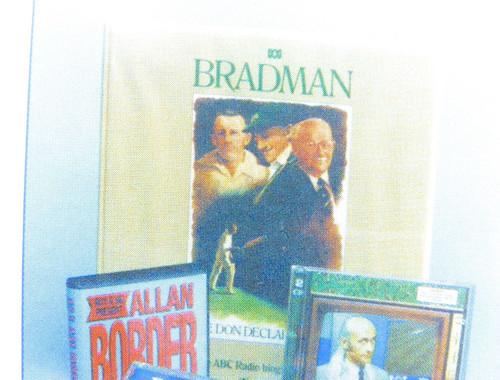 SCARCE DON BRADMAN CARD. MEMORABILIA THROUGH THE AGES