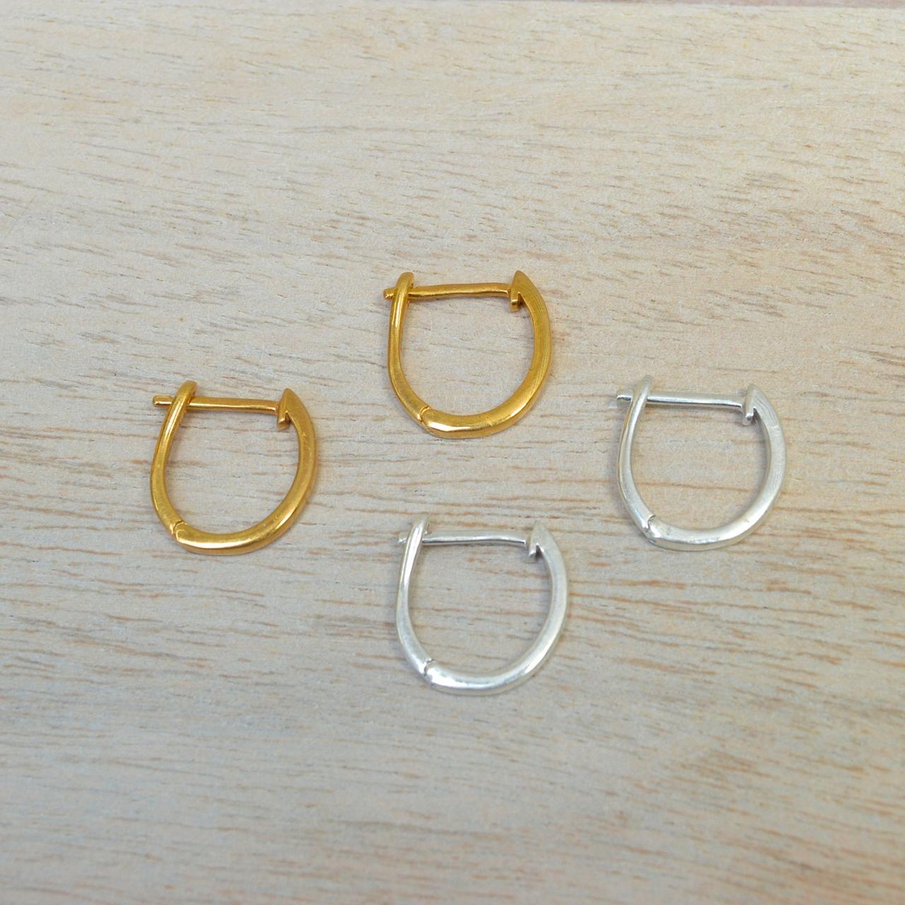 Huggie Earrings in Gold or Silver