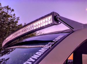 """1999-2004 JEEP Grand Cherokee WJ ONLY- Full set up! Loose Wire Bracket Mounts AND 5D 52"""" Curved LED CREE Light Bar"""