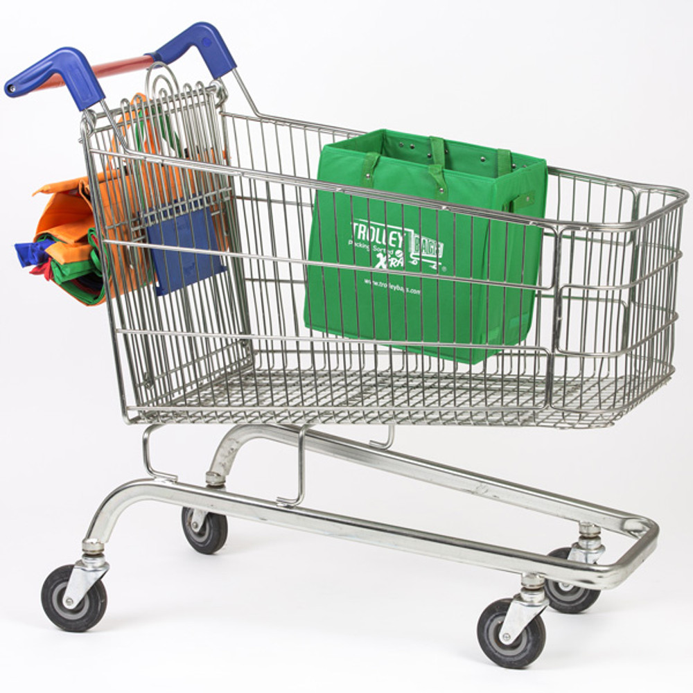 Trolley Bags Xtra can keep your fragile items protected, by keeping them lifted out of the trolley.