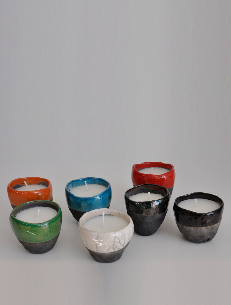 FES CANDLE. Candle handcrafted, 100% pure wax. Paraffine. SIZE: Ø6-8cm x H8cm