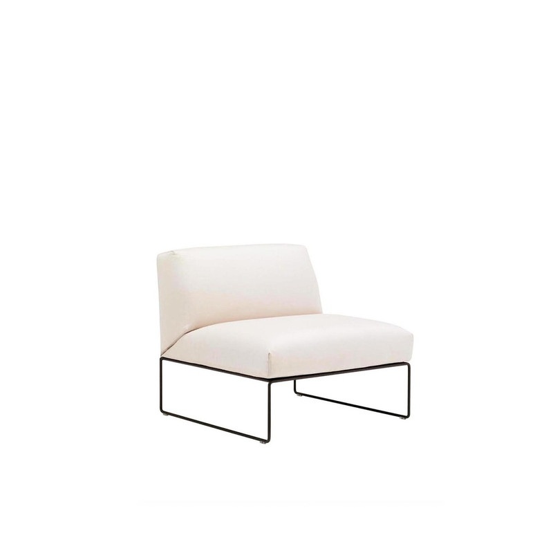 Andreu World Siesta Sofa, central sofa module.