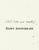 DSM3023 - Anniversary Card