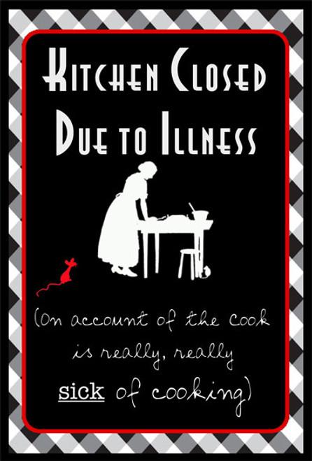 Closed Due to Illness