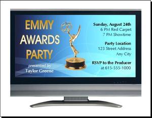 Emmy Awards Party Invitation