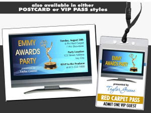 Emmy Awards Party Ticket Other Styles