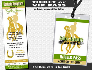 Kentucky Derby Party Invite Other Styles