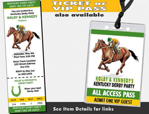 Kentucky Derby 2 Party Invite Other Styles