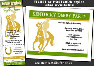 Kentucky Derby Party Invitation Other Styles