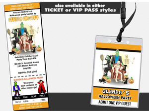 Costume Party Halloween Invitation Other Styles