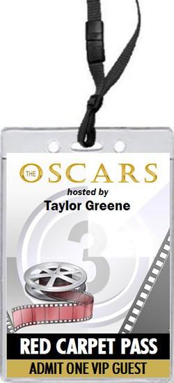 Oscar Awards Movie Reel Party VIP Pass Invitation