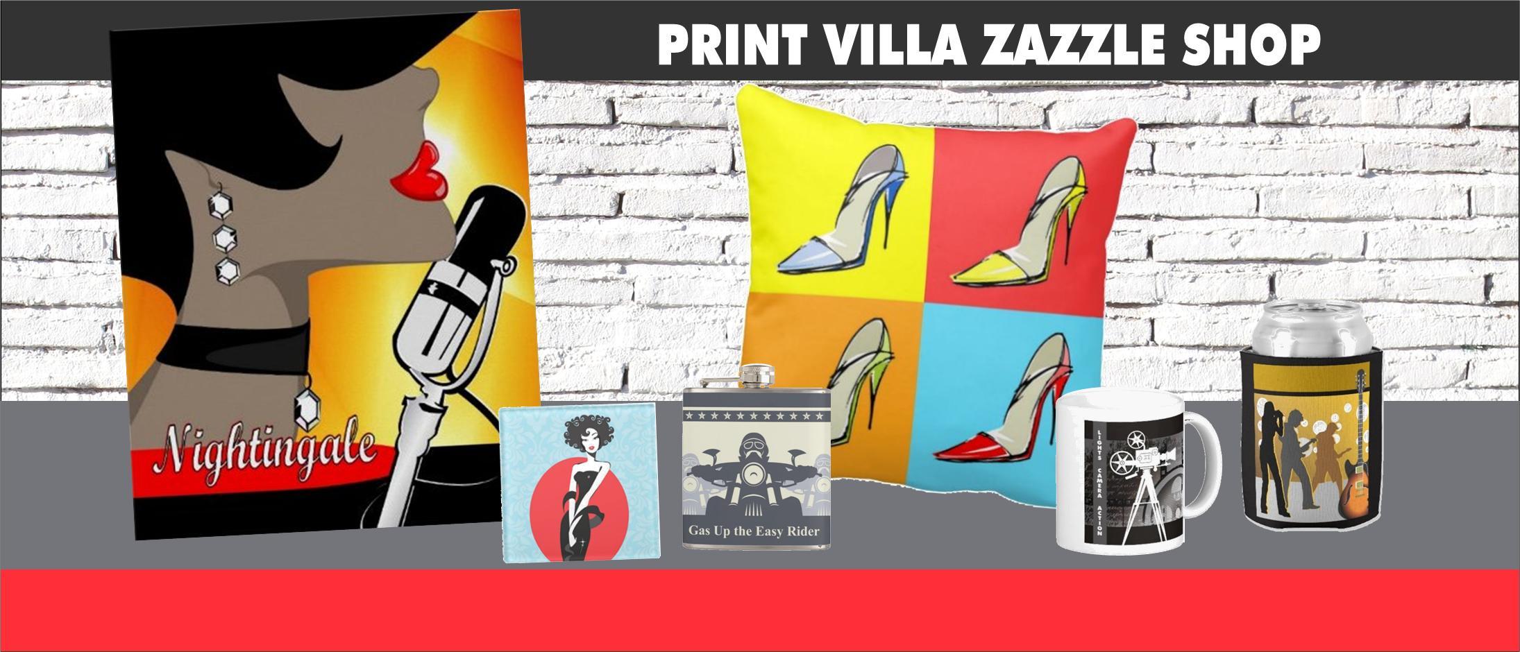 Print Villa Zazzle Shop