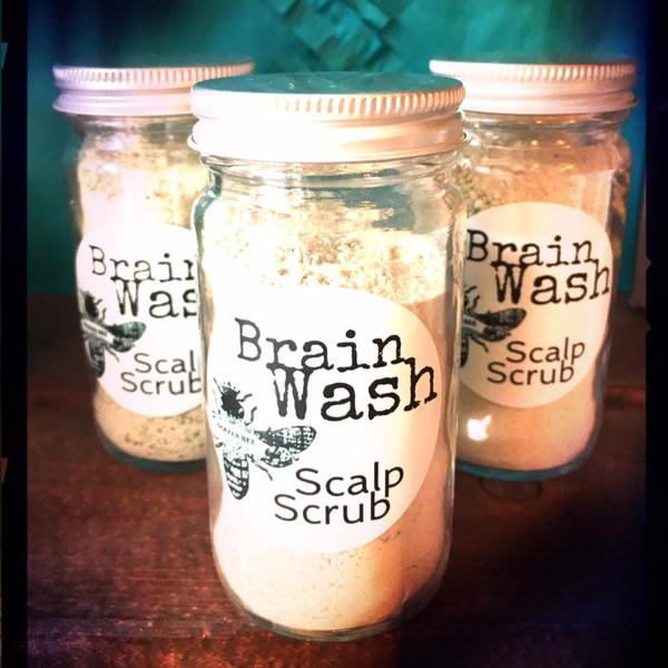 Brain Wash Scalp Scrub | HAIR CARE