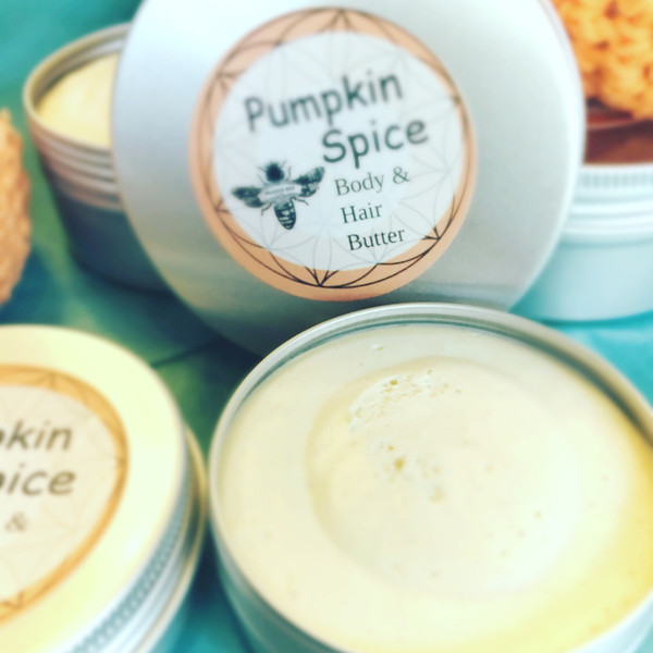 Pumpkin Spice | HAIR & BODY BUTTER 2 OZ