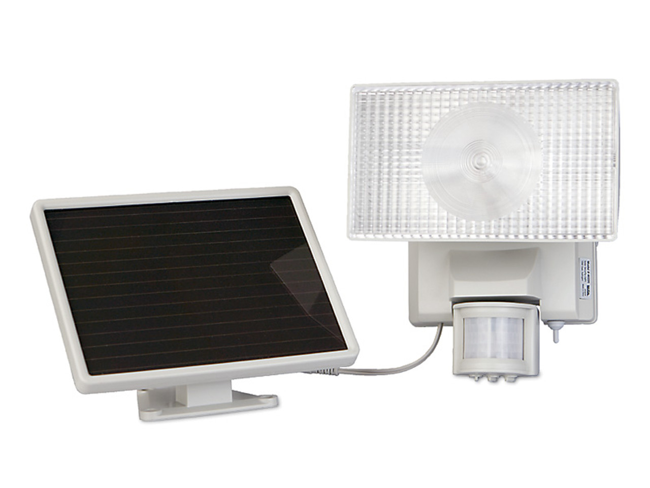 Solar Powered Motion Activated 80 LED Security Floodlight