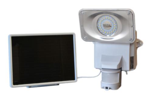 Maxsa bright solar security video camera and floodlight solar powered security video camera and floodlight aloadofball Gallery