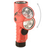 The Streamlight Vantage 180 LED Flashlight has a positionable head for ease of use