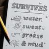 "Rite in the Rain Top Spiral 3"" x 5"" Waterproof Notebook"