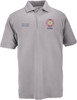Officer's Decorated Polo -  Heather Grey, S/S