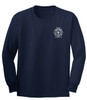 Custom Long Sleeve T-Shirt - Navy