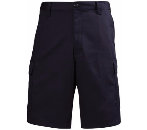 Lion 100% Cotton Flat Front Station Wear Shorts